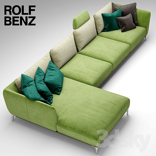 3d Models Sofa Sofa Rolf Benz Scala