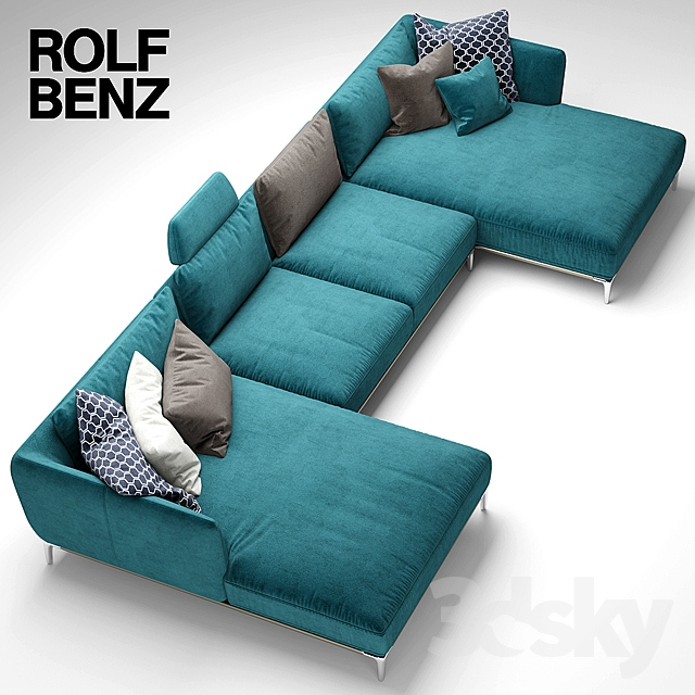 3d models sofa sofa rolf benz scala for Benz rolf sofa