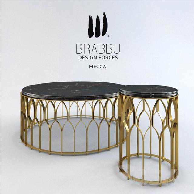 3d models: Table - brabbu mecca
