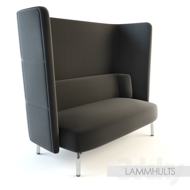 3d Models Sofa Lammhults Portus Armchaire