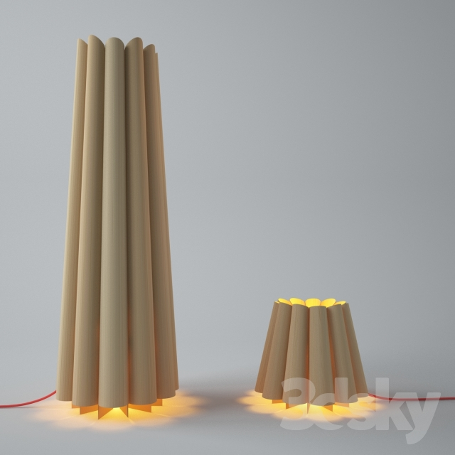 3d models table lamp zed floor table lamp With zed lamp table