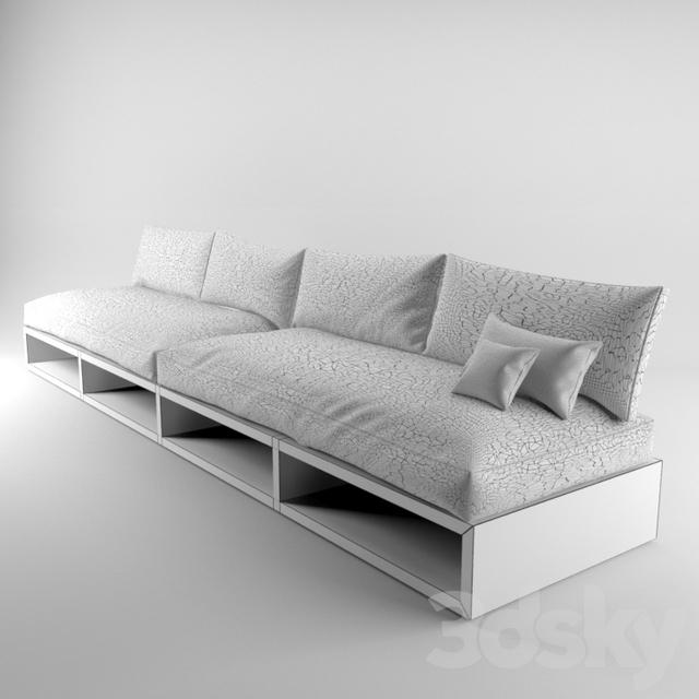 3d Models: Sofa   Selfmade Sofa Design