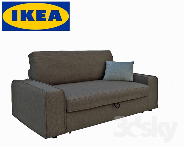 3d models sofa ikea sofa vilasund. Black Bedroom Furniture Sets. Home Design Ideas