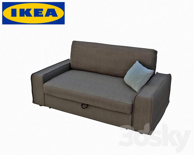 3d models sofa ikea sofa vilasund. Black Bedroom Furniture Sets. Home Design Ideas