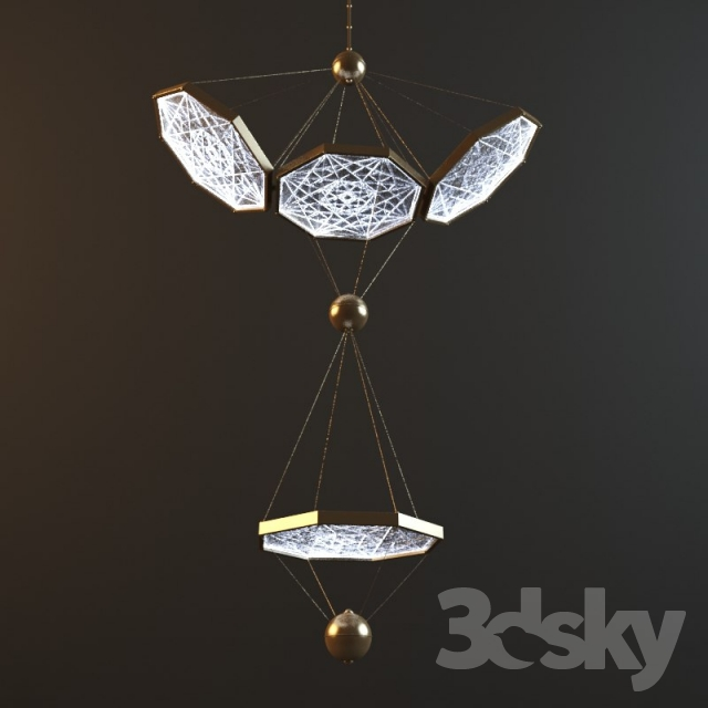 3d models ceiling light ceiling pendant italamp zeus 990 100 ceiling pendant italamp zeus 990 100 mozeypictures Gallery