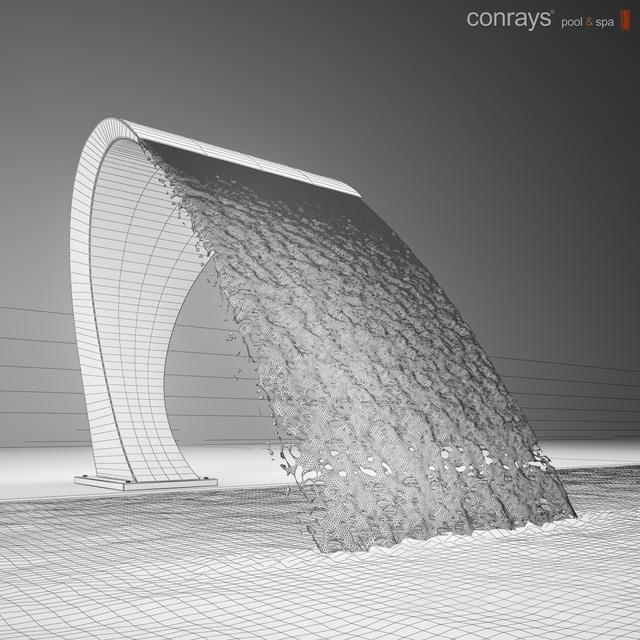 3d Models Faucet Waterfall Pool Cobra
