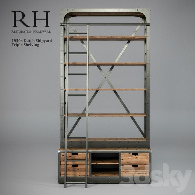 3d models: Other - Restoration Hardware - 1950s Dutch