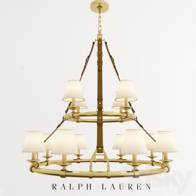 Chandelier Ralph Lauren Westbury Double Tier