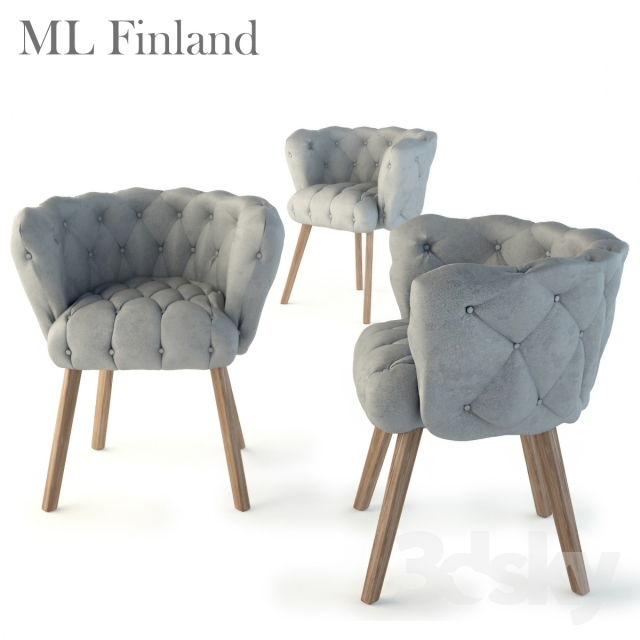 3d Models Chair Ml Finland Chaire