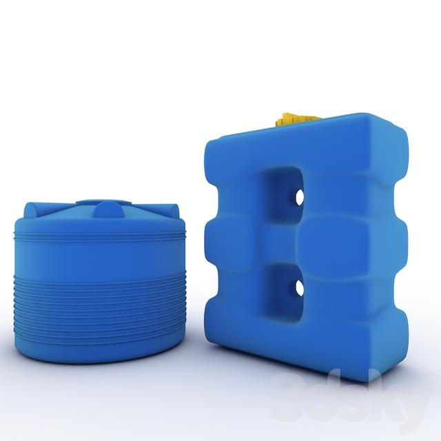 Barrels of water (irrigation)