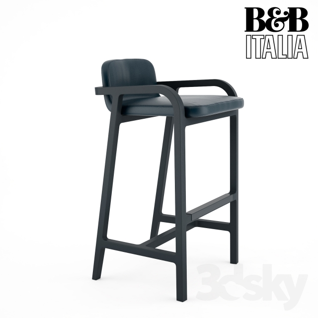 3d Models Chair B Amp B Barstool Fulgens