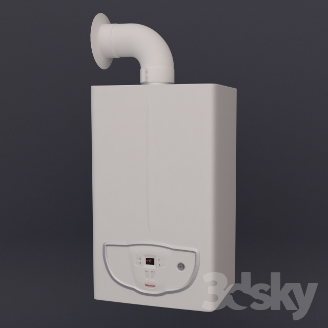 Immergas gas boiler