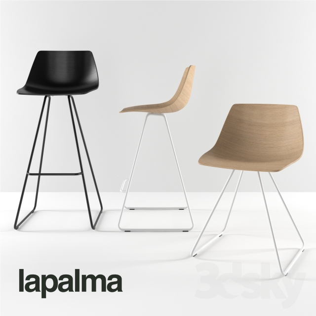 3d Models Chair Lapalma Miunn