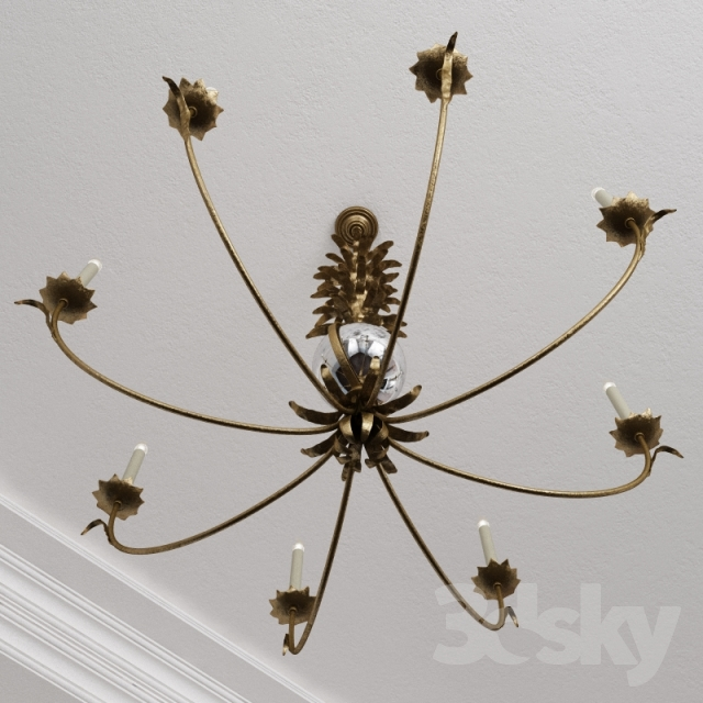 Models Ceiling Light Chart House Ef Chapman Gramercy Large Chandelier In Gilded Iron By Visual Comfort Chc1474gi Np