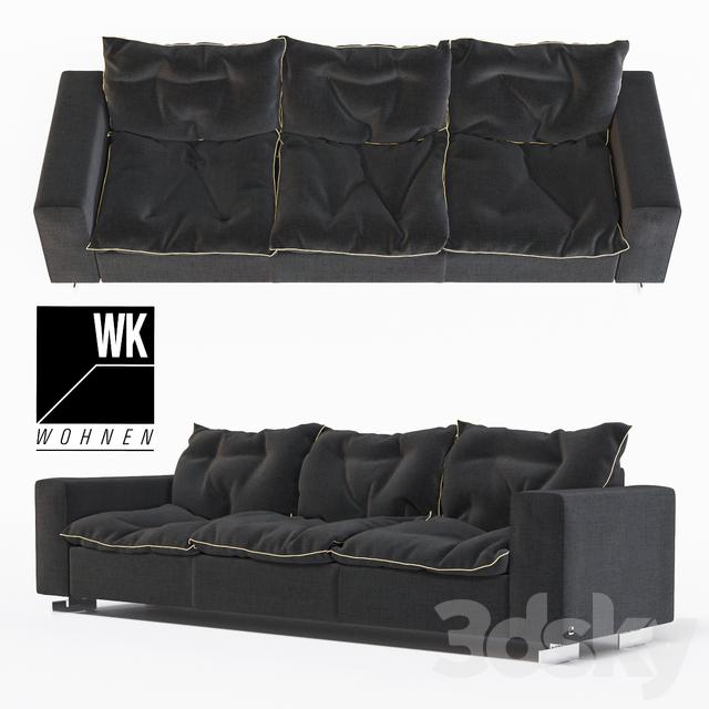 3d models: Sofa - WK 621 Marmara