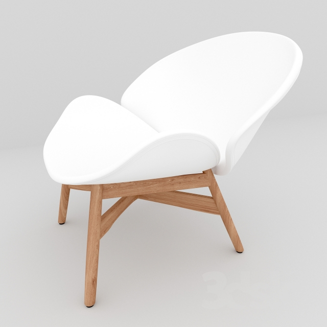 Superbe Gloster Dansk Lounge Chair