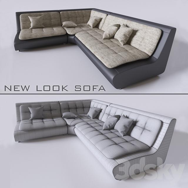 3d Models Sofa New Look Sofa Pearl