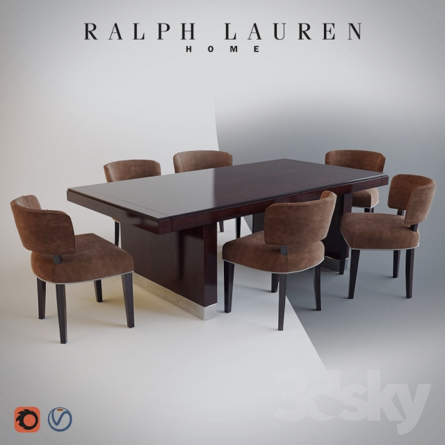 Charmant RALPH LAUREN HOME   CLIFF HOUSE DINING TABLE / CHAIR