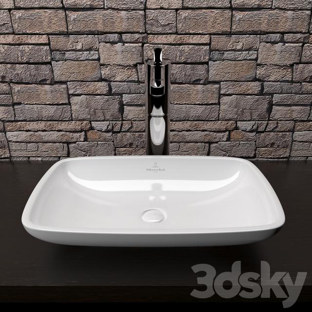 villeroy and boch loop and friends basin tularosa basin 2017. Black Bedroom Furniture Sets. Home Design Ideas