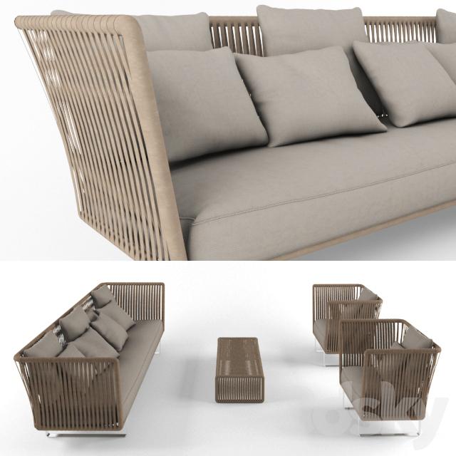 Bali Outdoor Furniture - 3d Models: Other - Bali Outdoor Furniture