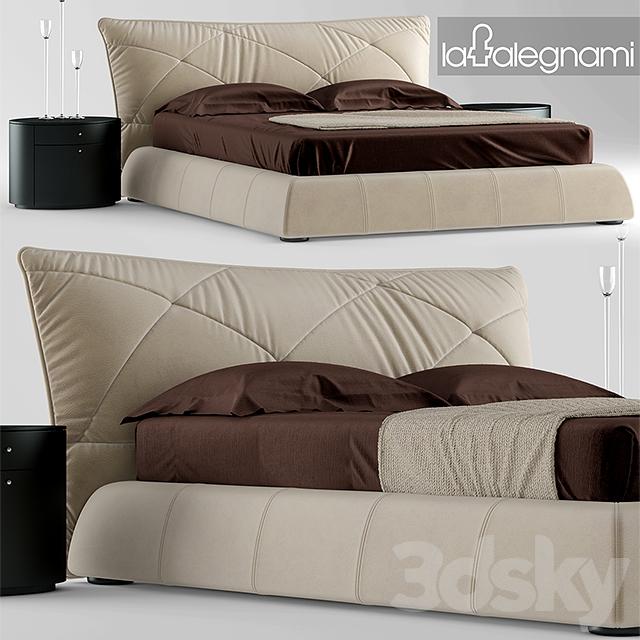 3d models: Bed - Bed falegnami camere da letto