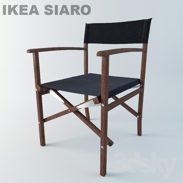 3d models chair ikea siaro for Ikea 3d