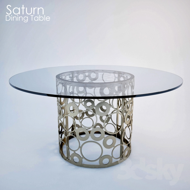3d models Table Saturn Dining Table