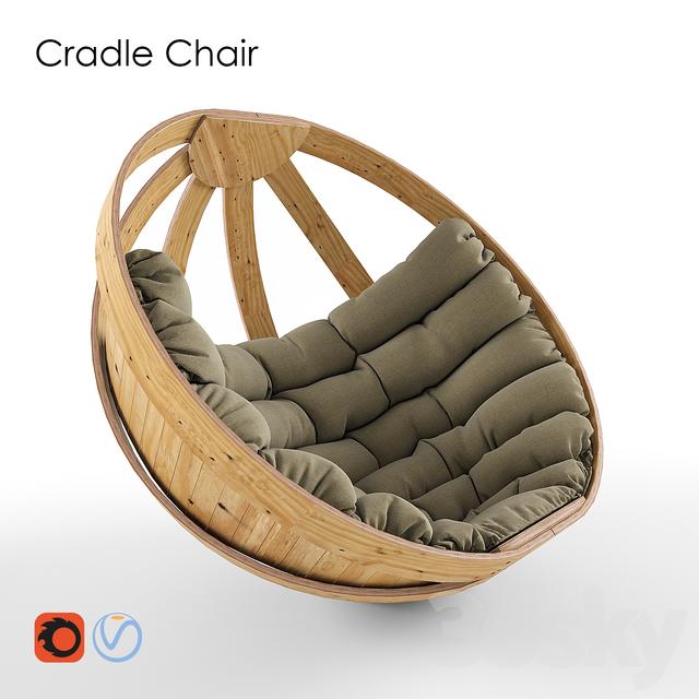 3d models Arm chair Cradle Chair