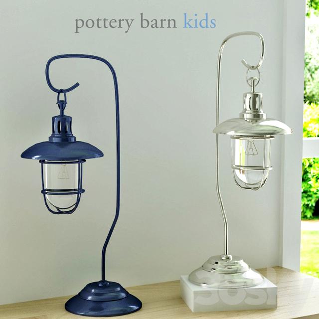 Pottery Barn, Fisherman Table Lamp - 3d Models: Table Lamp - Pottery Barn, Fisherman Table Lamp