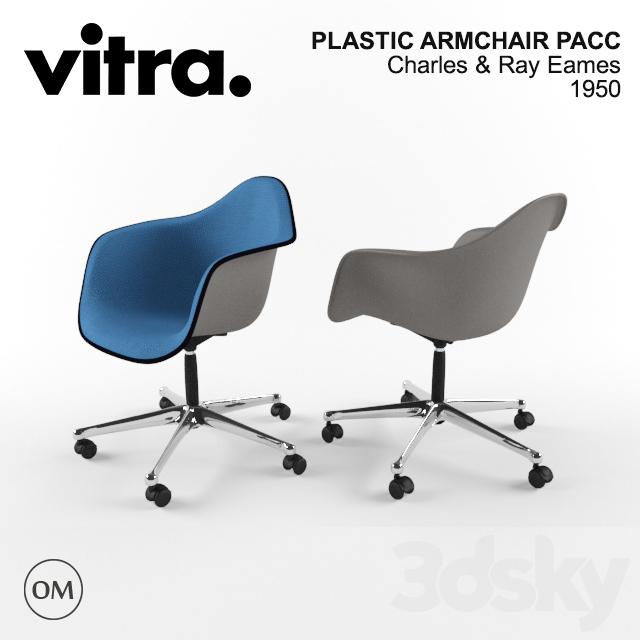 3d models arm chair vitra eames plastic armchair pacc. Black Bedroom Furniture Sets. Home Design Ideas