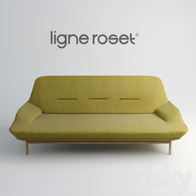 3d models sofa sofa cosse ligne roset. Black Bedroom Furniture Sets. Home Design Ideas