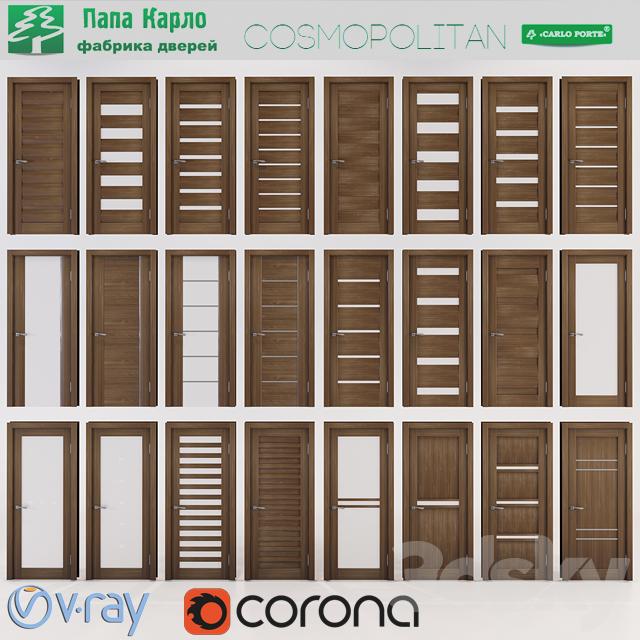 Doors Cosmopolitan (Papa Carlo) Part 2 & 3d models: Doors - Doors Cosmopolitan (Papa Carlo) Part 2 pezcame.com