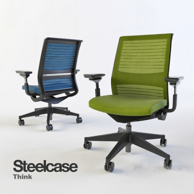 adjustable office steelcase chair ergonomic think chairs products