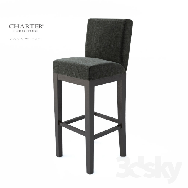 3d Models Chair Charter Furniture 4275 Brs Enos