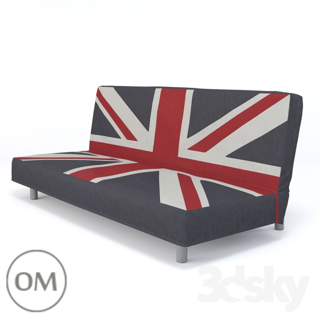 Sofa Ur British Flag The Position Of