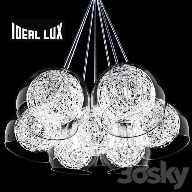 3d models: Ceiling light - Ideal Lux Cin Cin