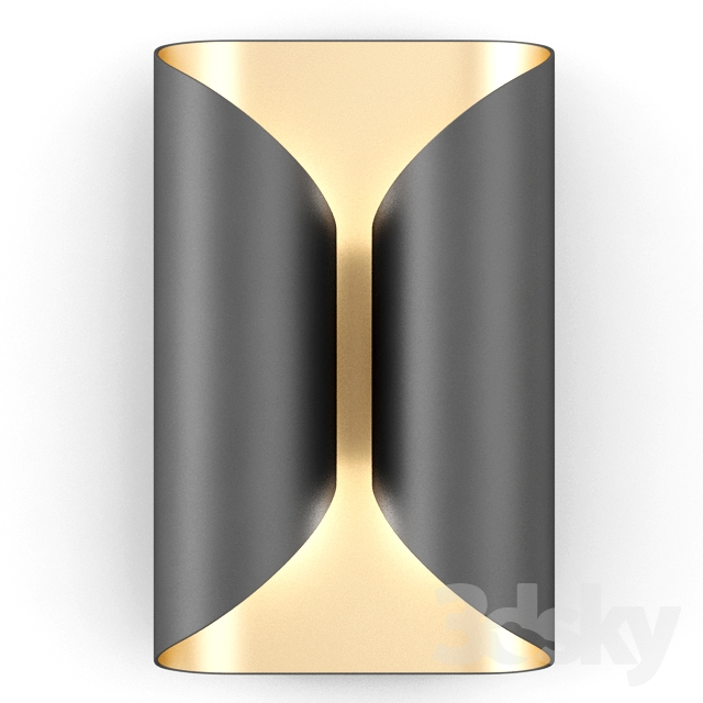 Holly Hunt Wall Lamp   Ombre Sconce PO1 7