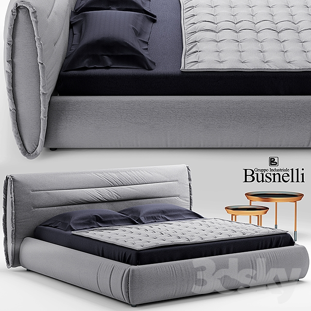 Bed Cinova Circle Bed Busnelli