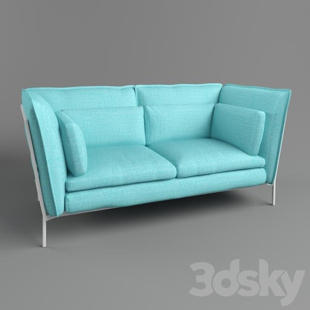 3d models  Sofa - Cappellini e75c62d5a1fc
