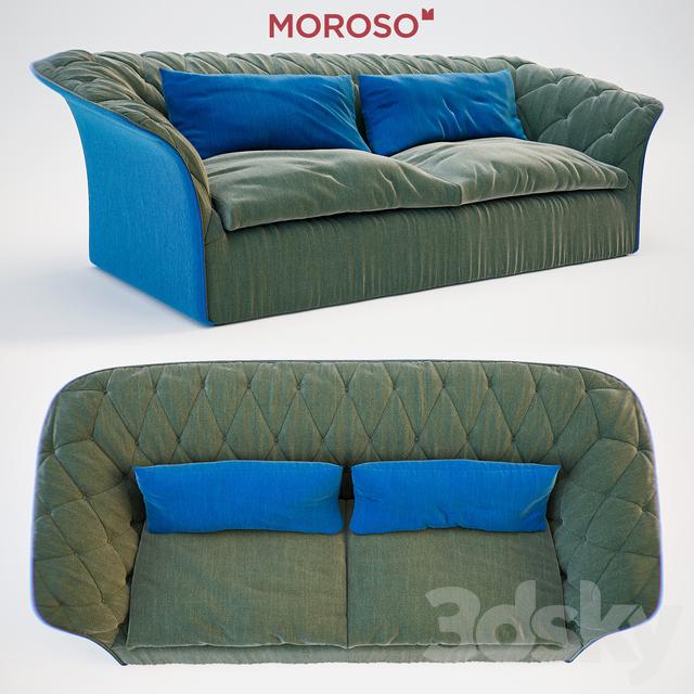 3d Models Sofa Moroso Bohemian Sofa Bed
