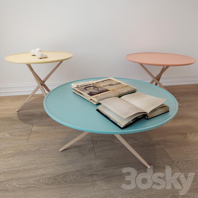 Coffee Table Pico Sculptures Jeux