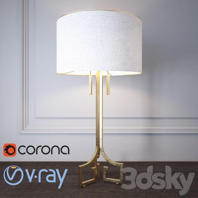 Regina Andrew Design Le Chic Golden Table Lamp