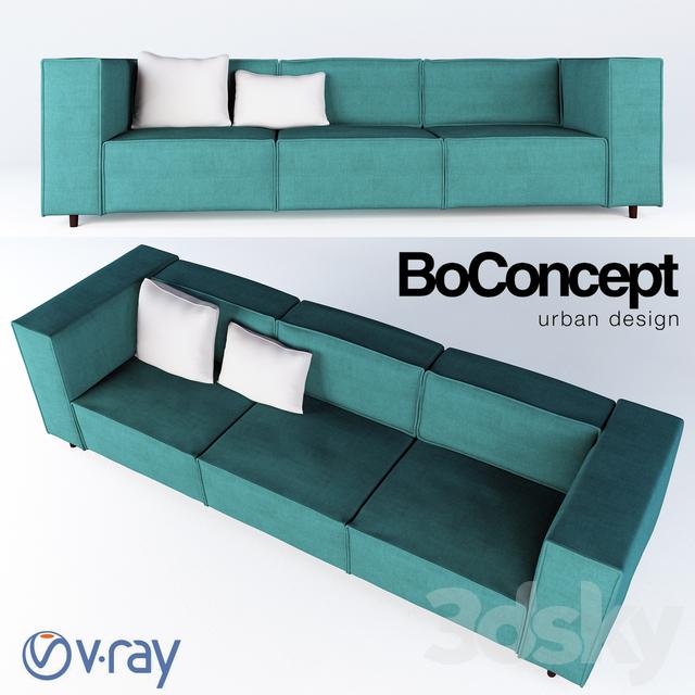 3d Models Sofa Sofa Boconcept Carmo
