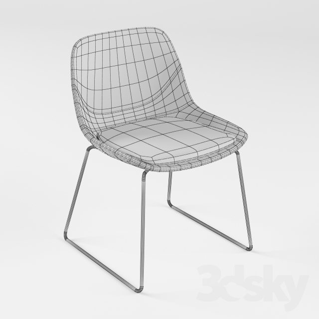 3d models: Chair - Brunner Crona chair