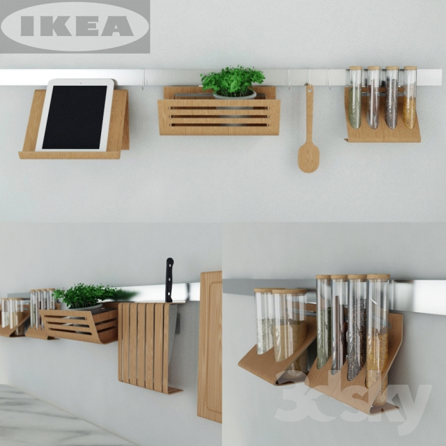 Interior Ikea Accessories 3d models other kitchen accessories ikea set rimforsa rimforsa