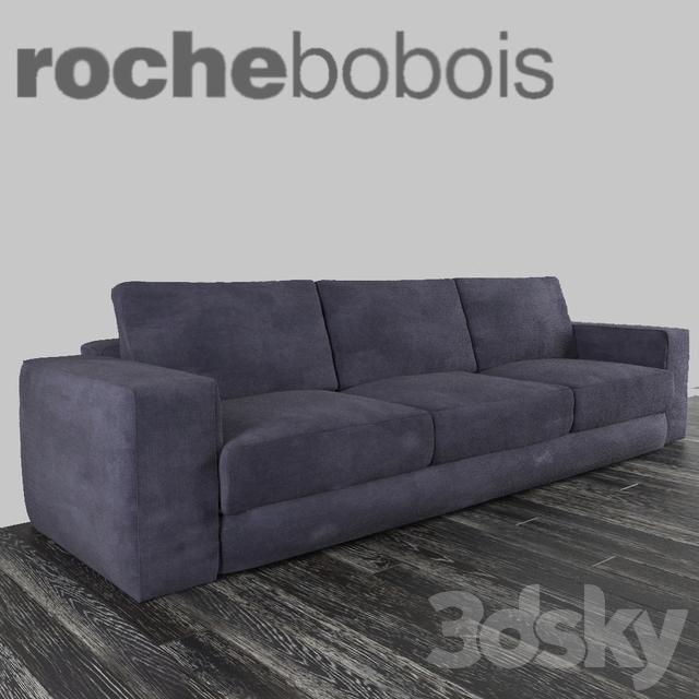 3d models sofa roche bobois karawan - Stoelen rock en bobois ...