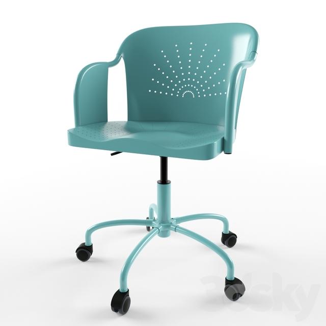 3d models office furniture work chair ikea roberget. Black Bedroom Furniture Sets. Home Design Ideas