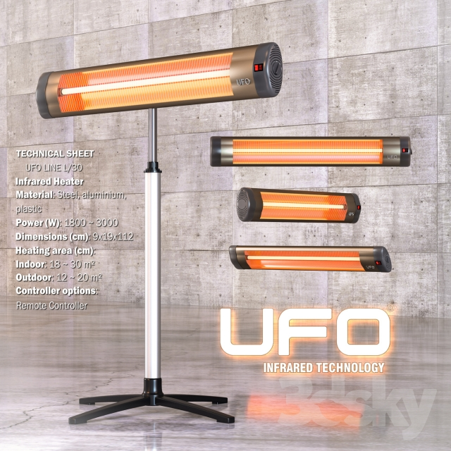 Infrared Heater Ufo Line L 30