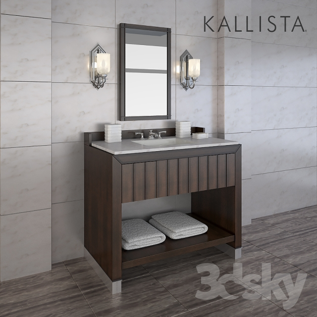 3d Models: Bathroom Furniture   ORIGINAL BY BARBARA BARRY FOR HIM DRESSING  TABLE