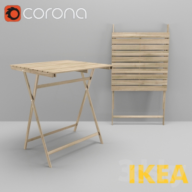 Ikea askholmen  3d models: Table - Ikea table ASKHOLMEN